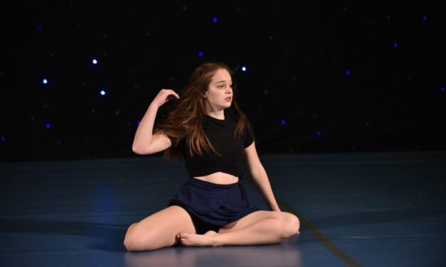 THE SILVER MEDAL IN JAZZ BALLET SECTION GOES TO….KAJA