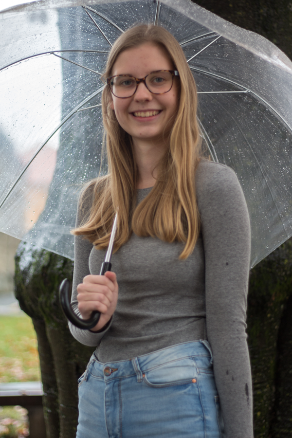 Hello. My name is Živa Verdnik. The point of this text is that you get to know me, so here we go: I love to listen to music and I also play the flute and the guitar (or I'm at least trying). I love to read books, but nowadays I don't have time for it anymore … (damn you, school!) The most important thing about my family that you need to know is, that I have a cat (and two brothers, but my kitty is cuter, to be honest), which is funny, because I always wanted to have a dog. But don't get the wrong picture, I still adore my cat! I really appreciate originality in art, music, literature etc., even if it is a bit eccentric. In my opinion, being a bit weird is sometimes even better. So I have a feeling that I'm starting to give you a bit too much information (and you are probably starting to get bored) so I will finish here. I hope you'll enjoy my works in this newspaper. See you soon! ☺