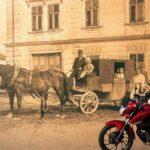 Biking through time